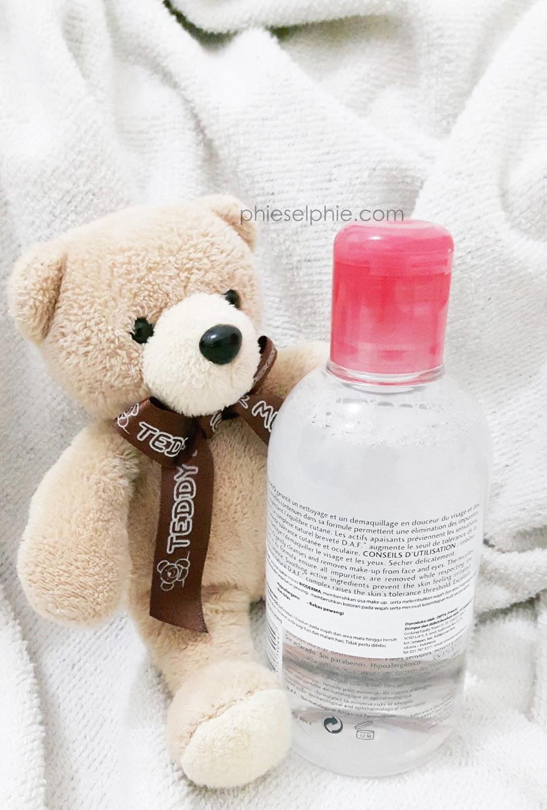 phieselphie: Bioderma Sensibio H2O Make-up Remover
