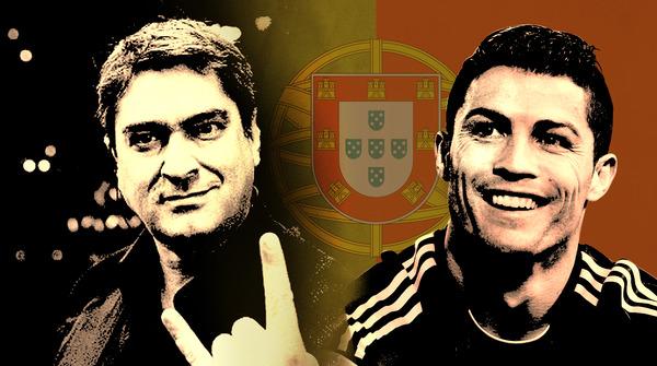 Zeca Camargo pede desculpas errado Cristiano Ronaldo ...Ops