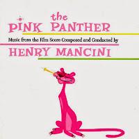 Cartel de la película de 1963 : The Pink Panther (La Pantera Rosa)