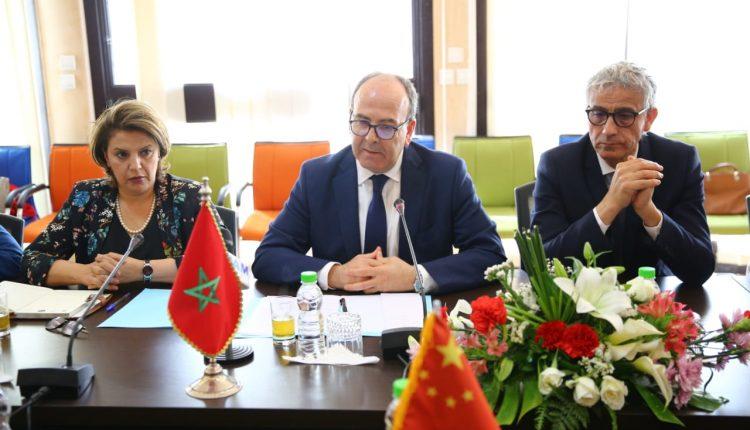 بن شماش يقترح مبادرات تقوي علاقات التعاون بين المغرب وجمهورية الصين الشعبية