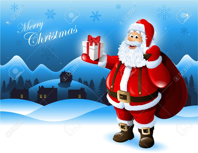 Santa Clause Funny Merry Christmas Naughty Images