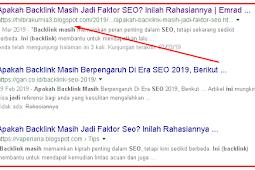Cara Membuat Artikel Blog Supaya Page One Google