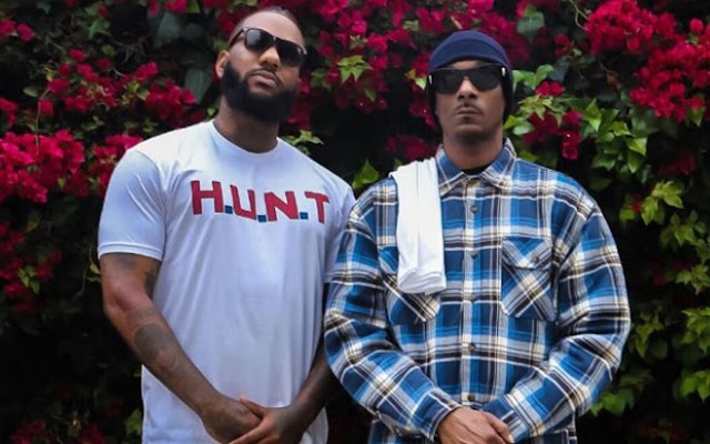 NEWS: THE GAME & SNOOP DOGG HOST PEACEFUL ALL-MALE MARCH TO LAPD HEADQUARTERS