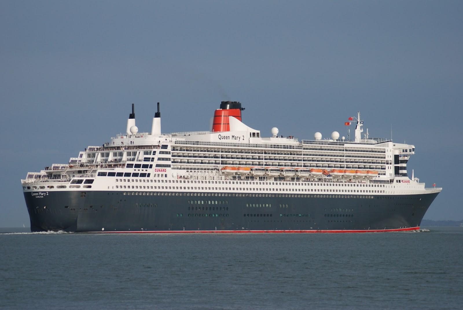 Queen Elizabeth 2 Ship Sinking Pictures