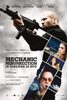 Mechanic: Resurrection - Segundo Poster & Dois Mini Trailers