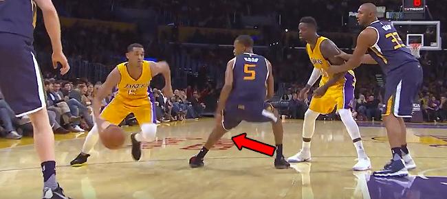 Jordan Clarkson Breaks Rodney Hood Ankles (VIDEO)