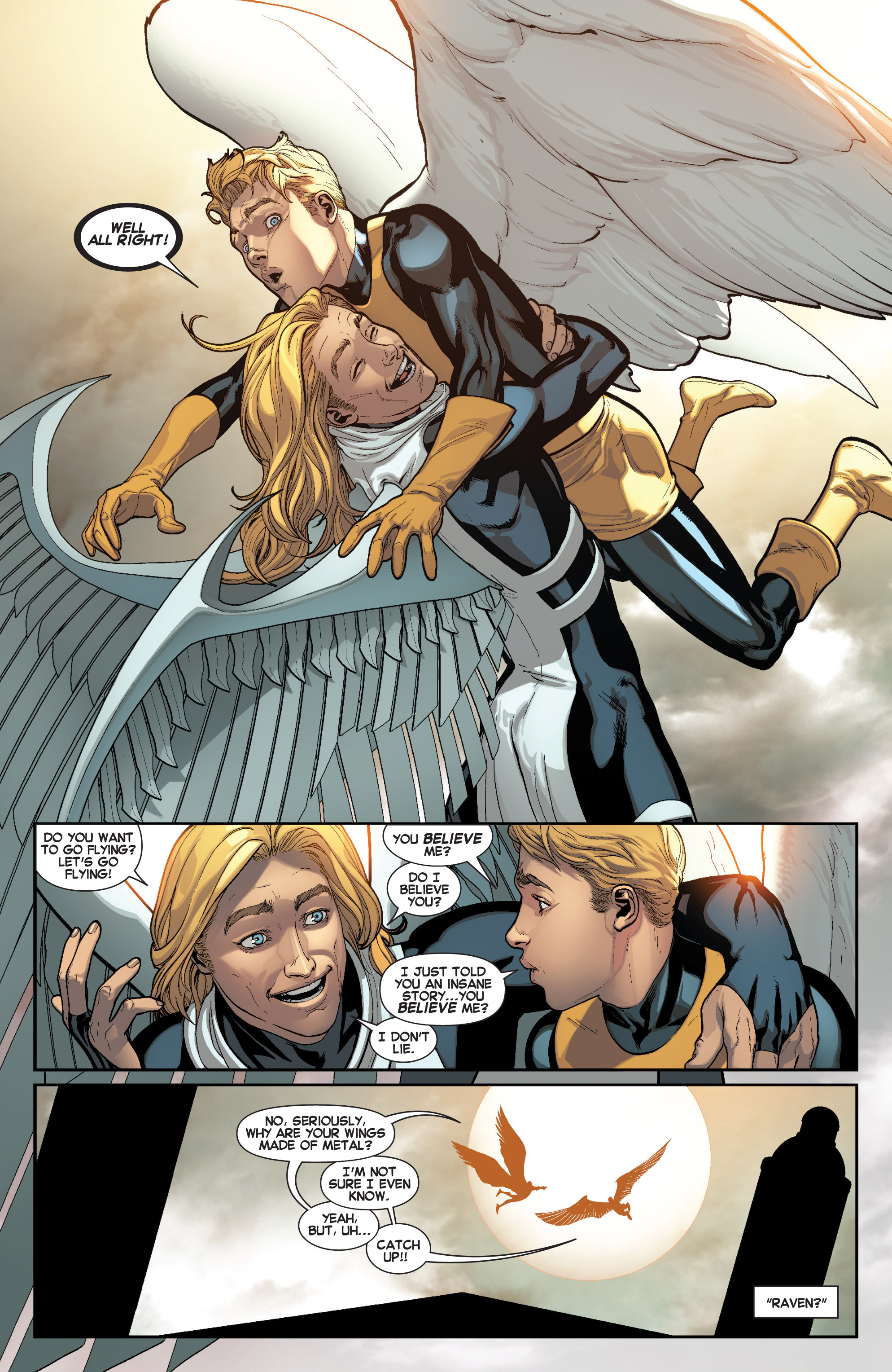 Read online All-New X-Men (2013) comic -  Issue # _Special - Here To Stay - 20