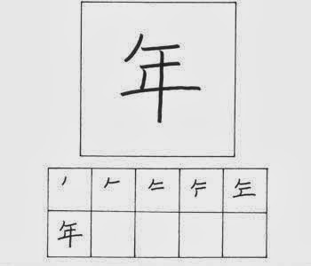 kanji tahun