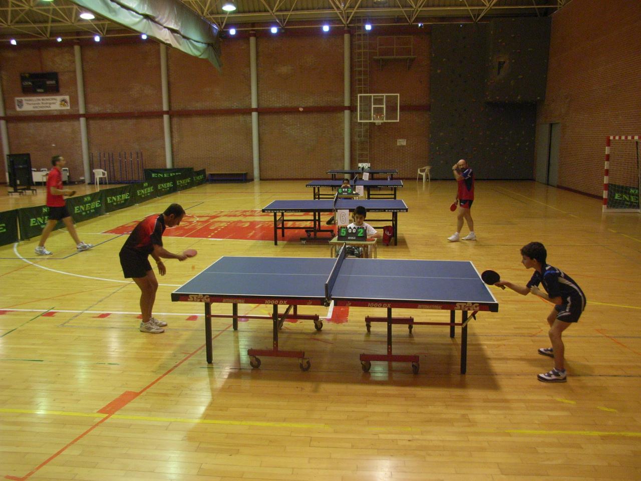 Rea de deportes del ayuntamiento de archidona torneo tenis de mesa - Torneo tenis de mesa ...