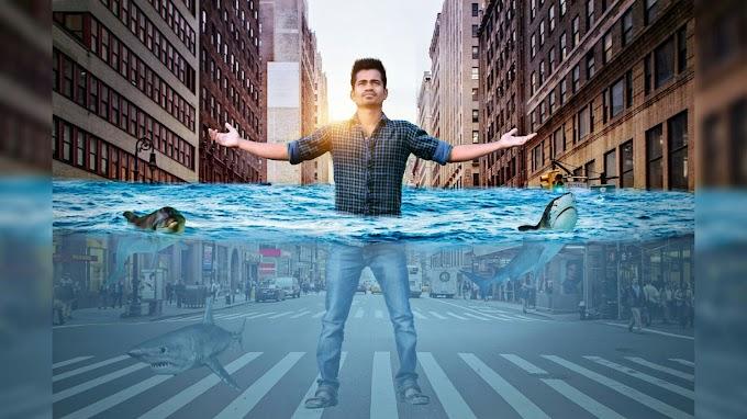 PICSART UNDER WATER CITY PHOTO MANIPULATION | PICSART EDITING