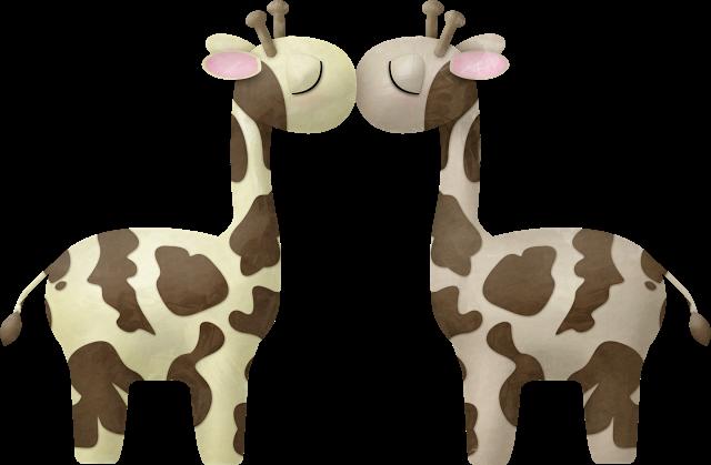 jirafas animado