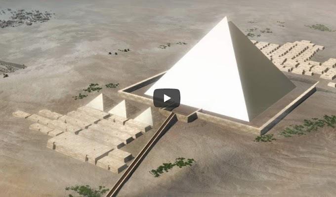 Μια θεωρία για την κατασκευή των Πυραμίδων της Αιγύπτου - ΒΙΝΤΕΟ