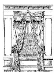 curtain interior design image french