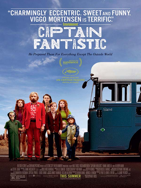 Captain Fantastic 2016 Full Movie Free Poster