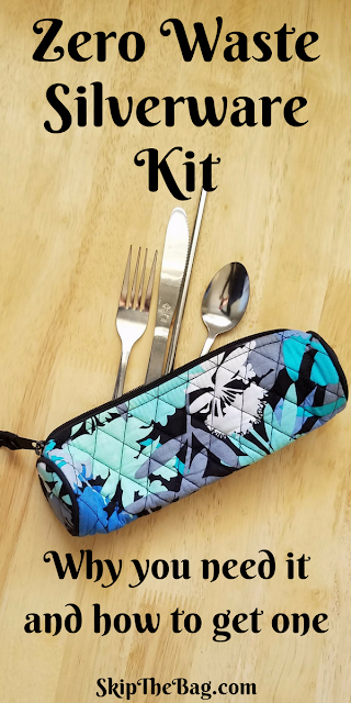 Zero Waste Silverware Kit | Why you need to carry silverware with you and what your options are.