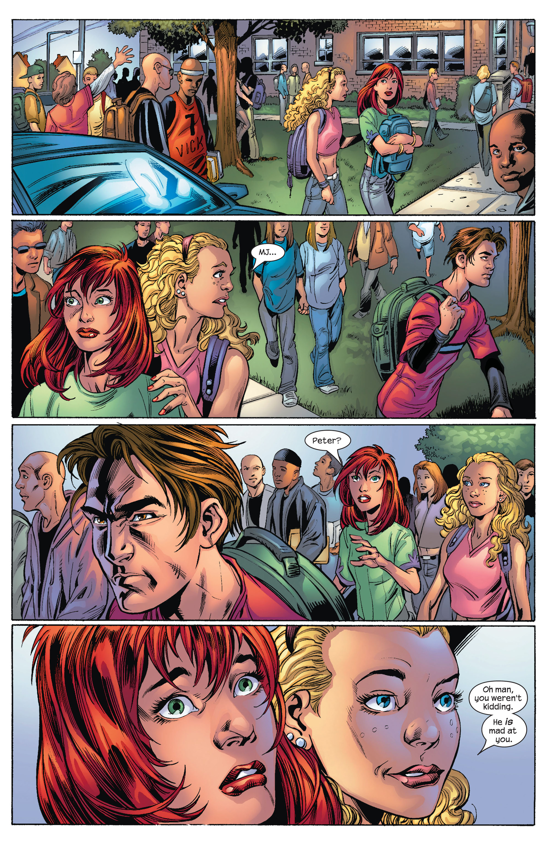 Read online Ultimate Spider-Man (2000) comic -  Issue #75 - 11