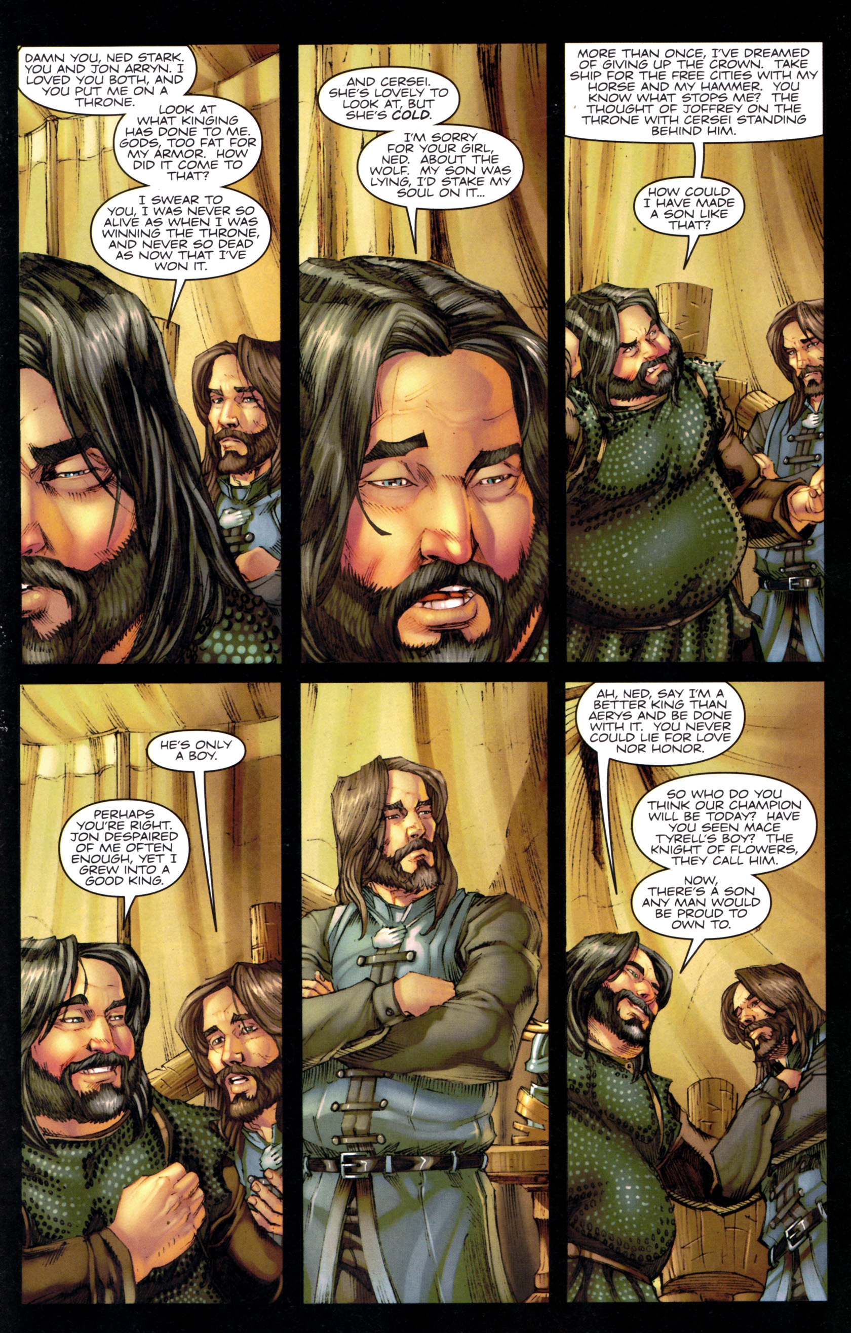Read online A Game Of Thrones comic -  Issue #9 - 23