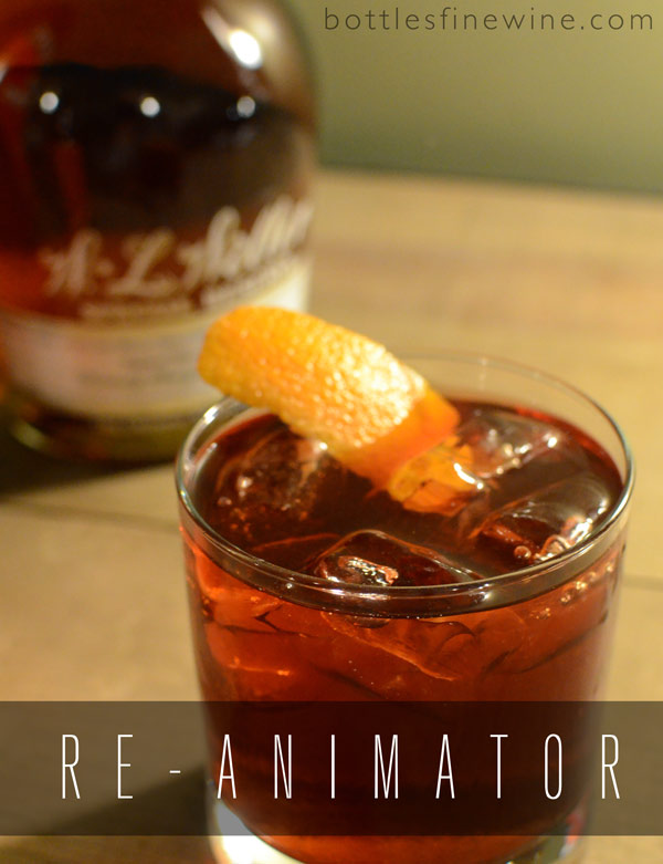 Re-Animator Bourbon Cocktails Ideas