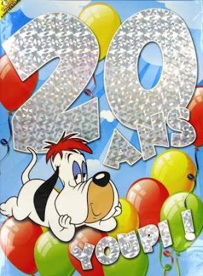 texte anniversaire humour 20 ans