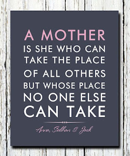mothers day quote, mothers day graphic, no one can take the place mom