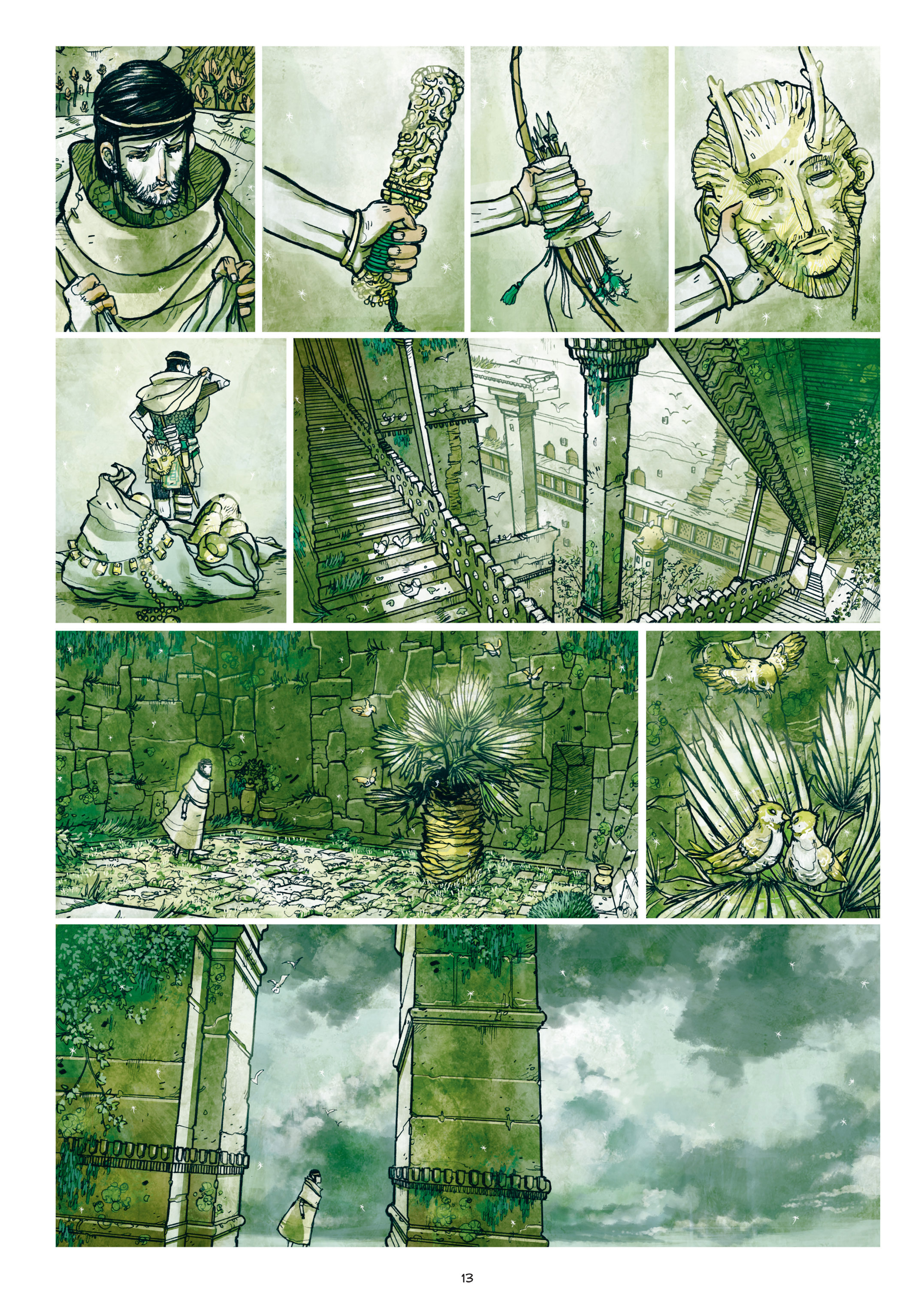 Read online Adrastée comic -  Issue #1 - 14