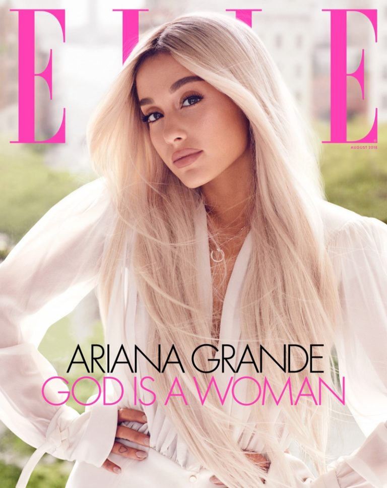 Ariana Grande for ELLE US August 2018
