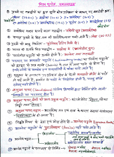 World geography Handwritten Notes in Hindi