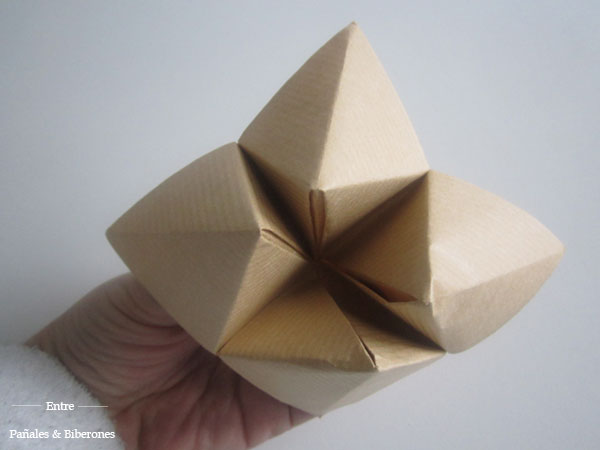 Origami Juego De Dedos