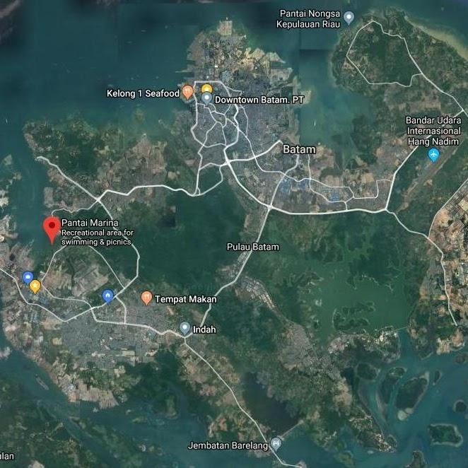 Apa yang Menarik di Pantai Marina Batam?