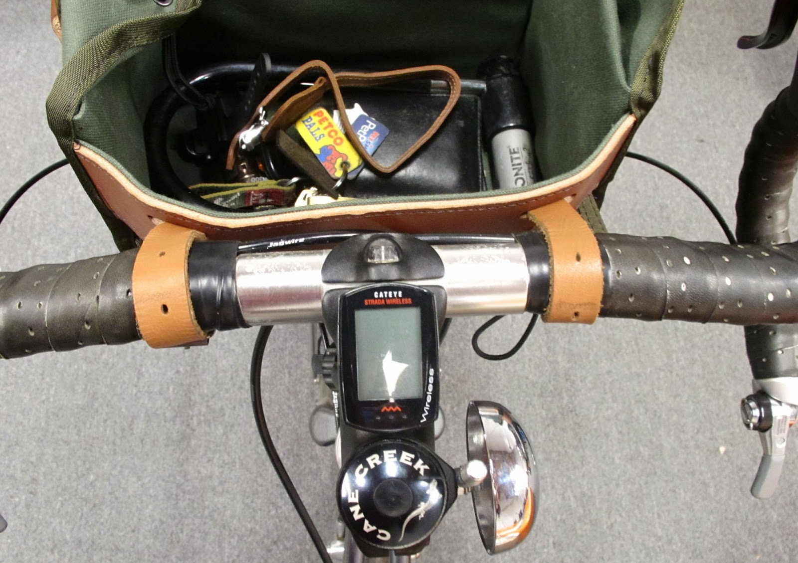 Mounting A Handlebar Bag In Pictures