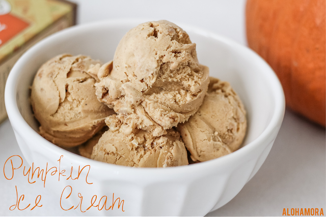 Pumpkin Ice Cream. Homemade easy to make ice cream with a subtle pumpkin flavor and some versatility on mix ins.  Easy to make, Fun to make, Yummy to eat.  Recipe. pumpkin cheesecake cookies, walnuts, or pecans mix in.  Simple. Homemade. Scratch. Gluten Free, Egg Free, Nut Free Alohamora Open a Book http://alohamoraopenabook.blogspot.com