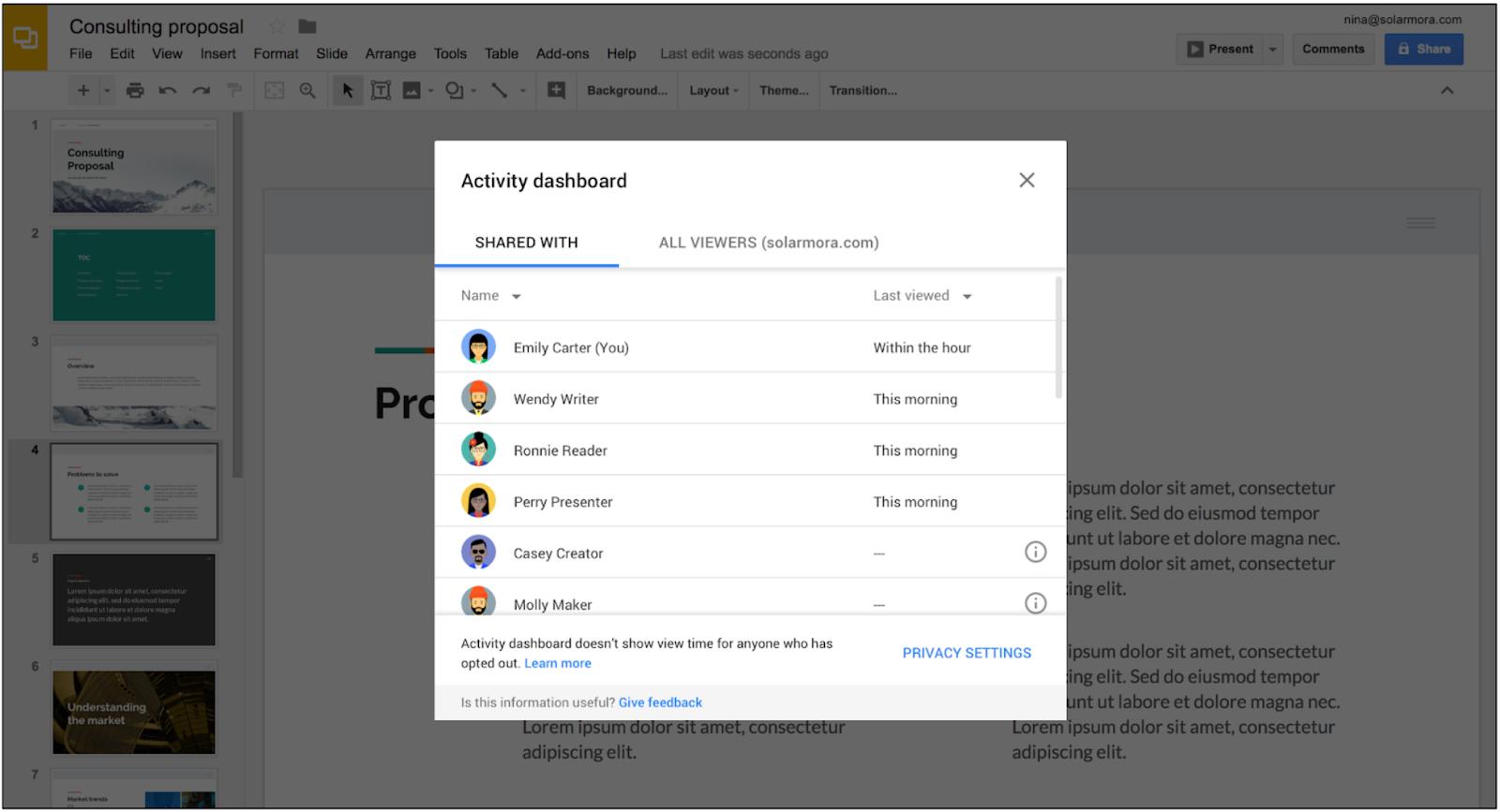 G Suite Updates Blog: Improve collaboration in Google Docs