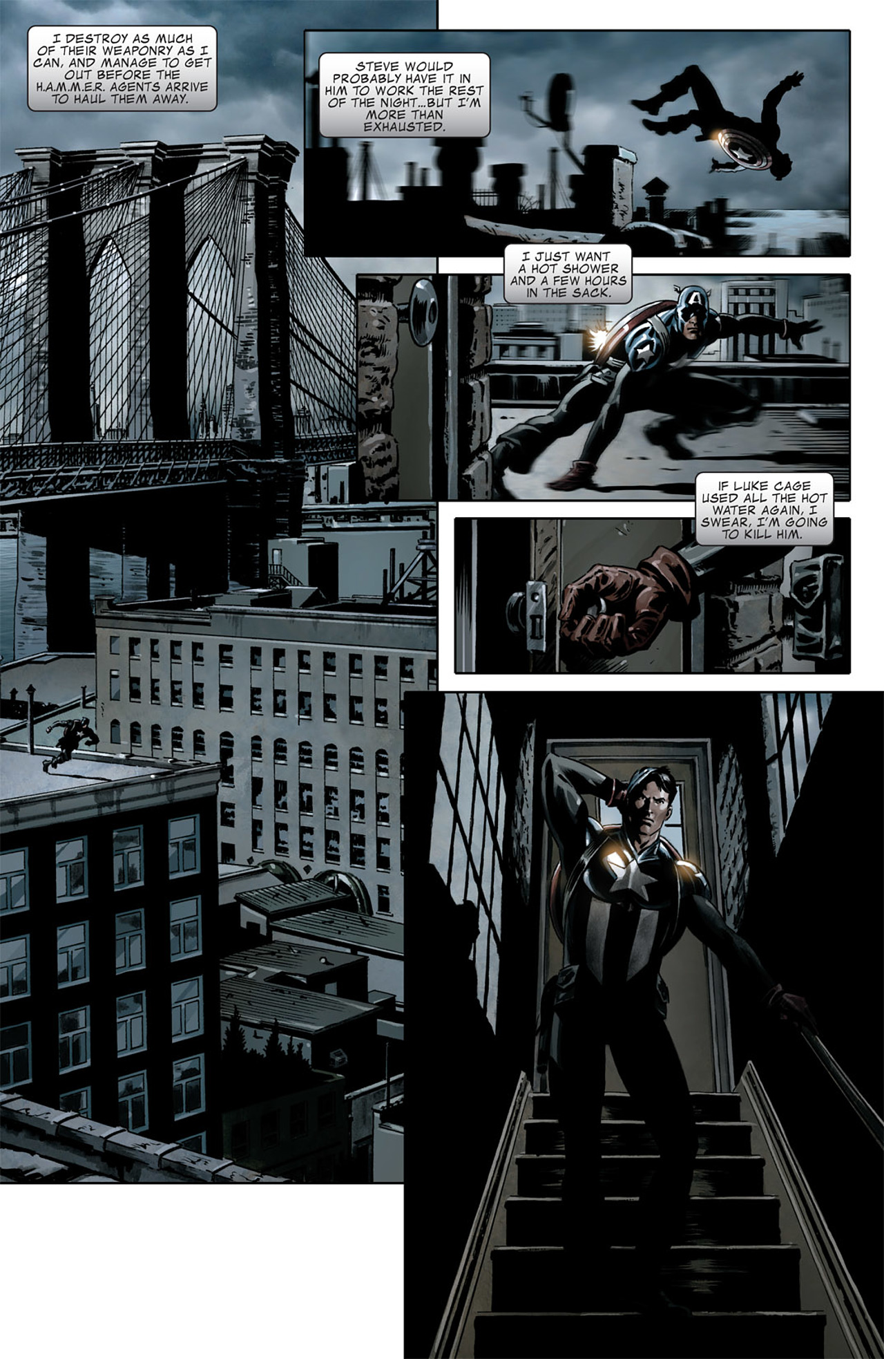 Read online Captain America (2005) comic -  Issue #50 - 22