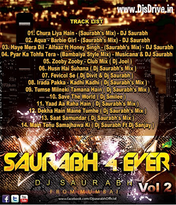 Saurabh+4+Ever+Vol.+2+ +DJ+Saurabh+Track+Cover Saurabh 4 Ever Vol. 2   DJ Saurabh