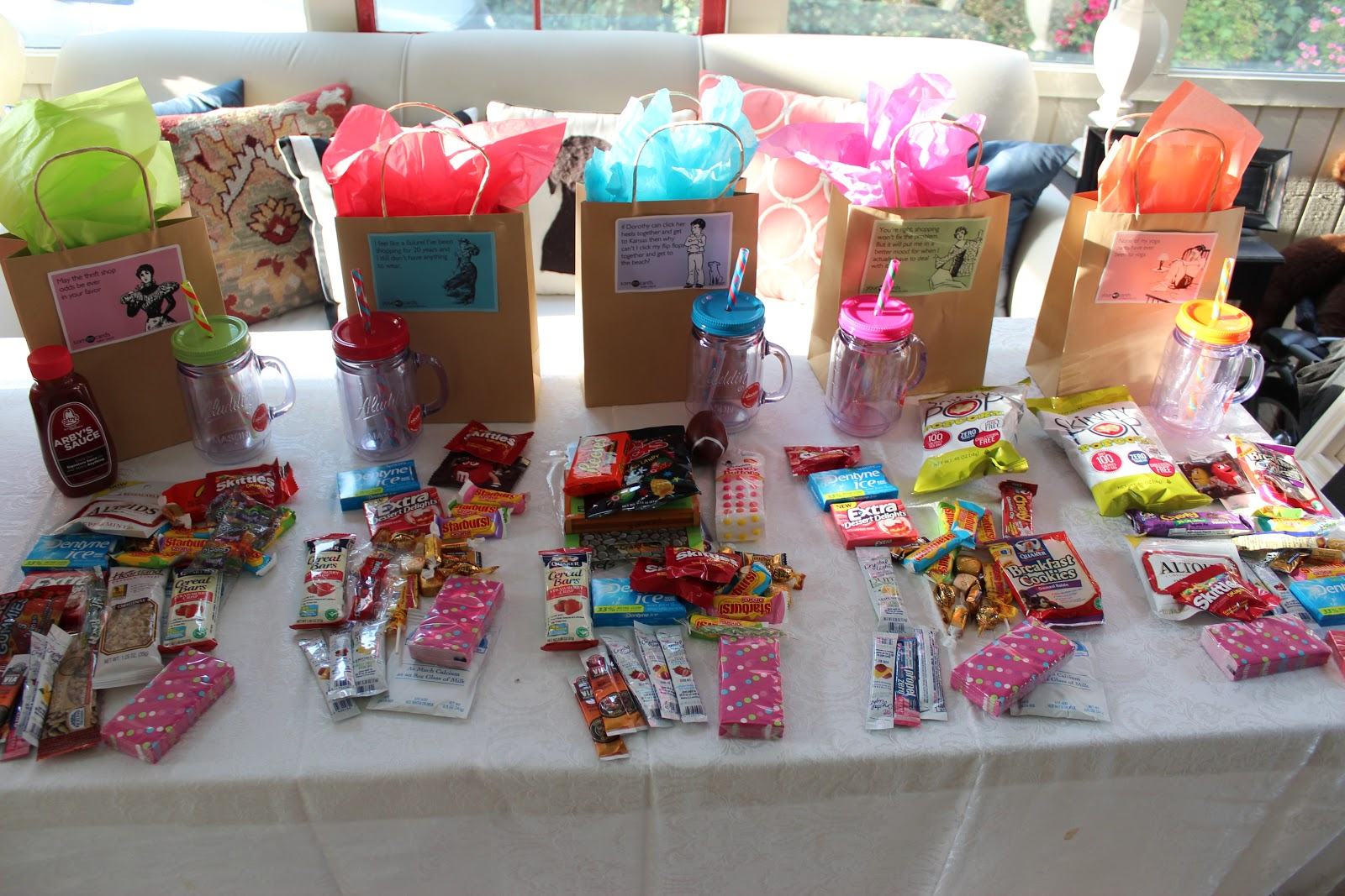 Teen girls goody bags