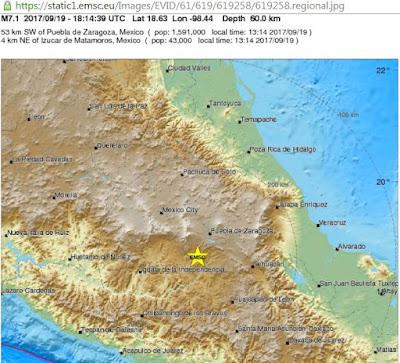Buildings fall as 7.1-magnitude earthquake hits Mexico
