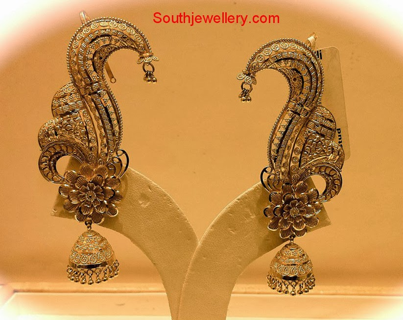 Latest Designer Jhumkas by Nalli - Jewellery Designs