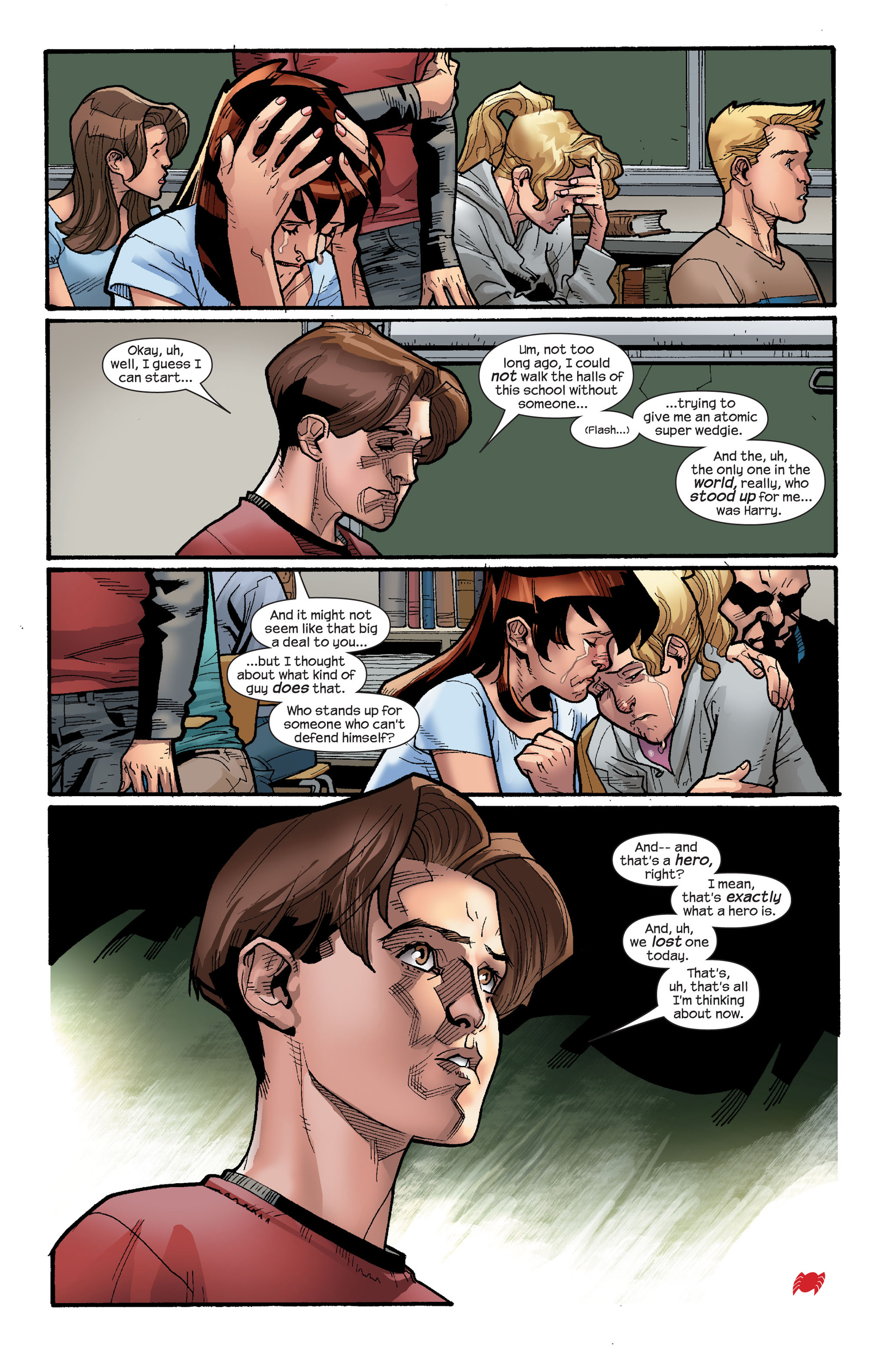 Read online Ultimate Spider-Man (2000) comic -  Issue #117 - 21