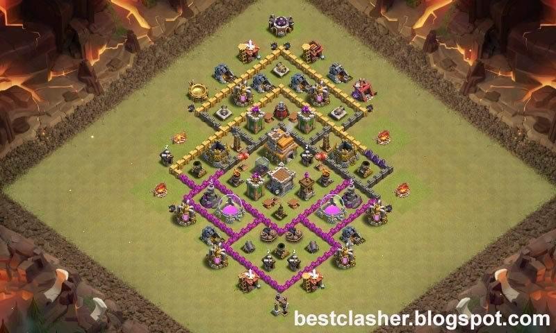 Base Coc Th 7 Anti Serangan Udara 4