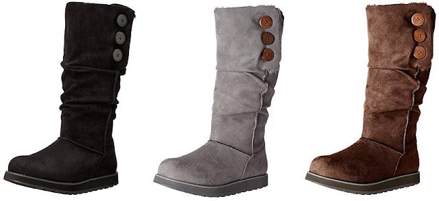 Skechers Big Button Tall Winter Boots $40 (reg $75)