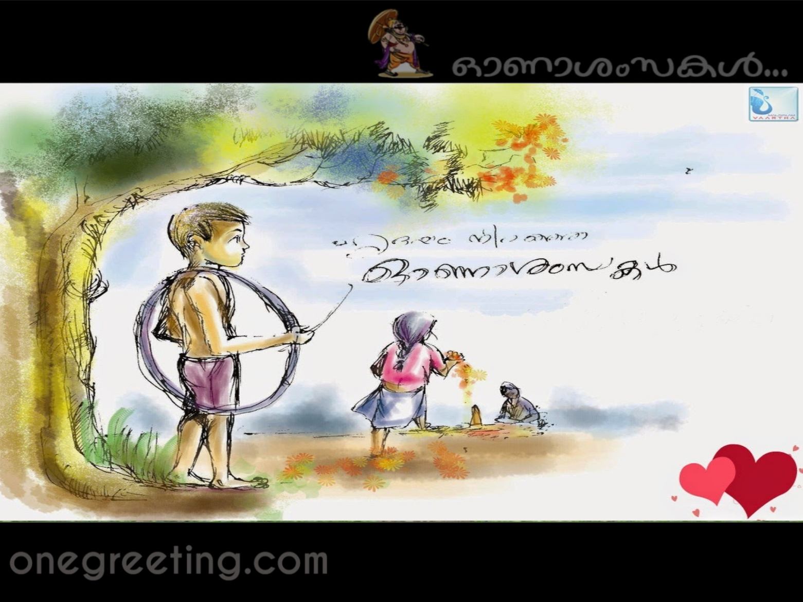 9 Beautiful Onam Greeting Card Designs And Onam Wishes One Greeting