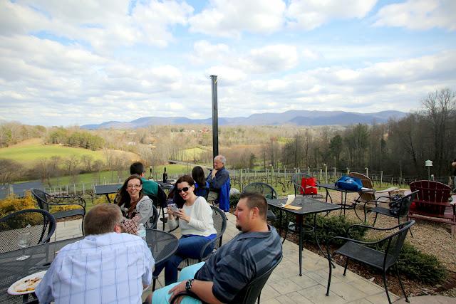 Silver Fork Winery in Morganton, North Carolina
