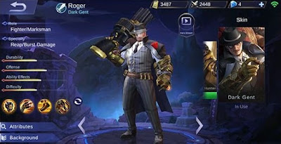 Roger Mobile Legends