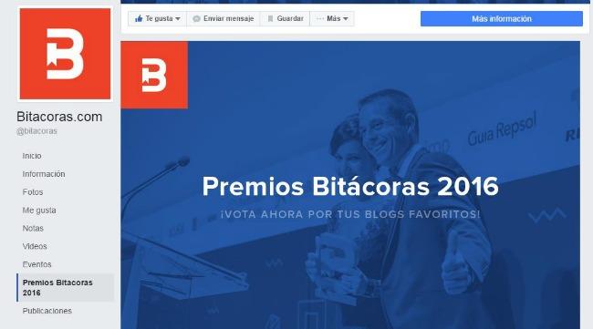 Voto para los Premios Bitácoras - Categoría Belleza y Moda