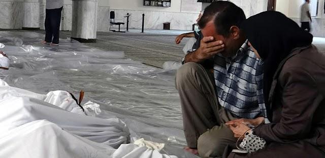 Israel acredita que a Síria ainda tem três toneladas de armas químicas