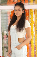 Mishti Chakraborty in lovely Jumpsuit and crop top at Wings Movie Makers Production No 1 movie launch ~  Exclusive 58.JPG