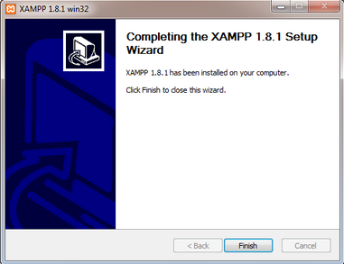 Xampp Windows - Instalasi Berhasil