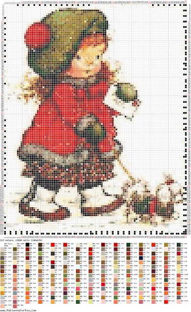 DIY Ponto Cruz - Cross Stitch Sara Kay 15