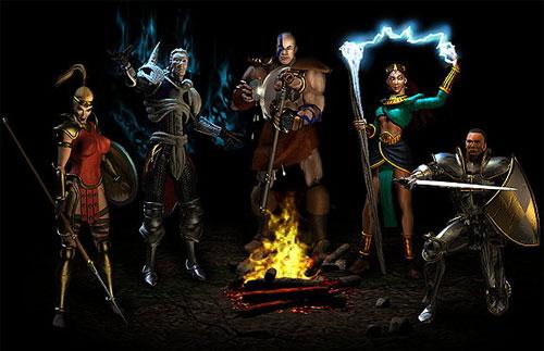 Personajes del Diablo II