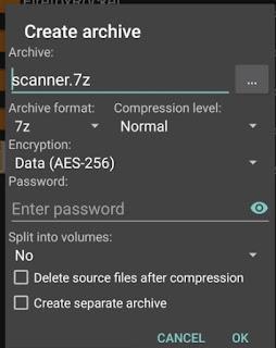 Cara Ekstrak File ZIP, RAR, 7z di  Android